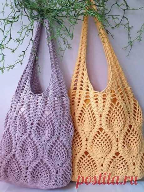 Экологичная сумка для шопинга крючком Экологичная сумка для шопинга крючкомОна одна вместо сотен пакетов.Давайте заботиться об экологии вместе.Да и выглядит она красивее, чем любой пластиковый пакет.