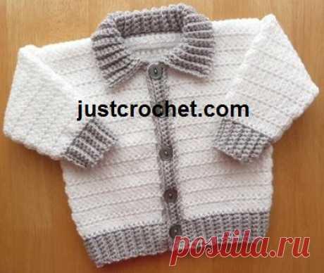 3-6 Month Baby crochet pattern JC150B