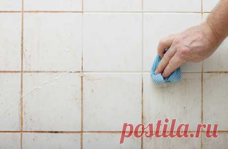 Как быстро отбелить плиточные швы? | CтройКА | Яндекс Дзен
