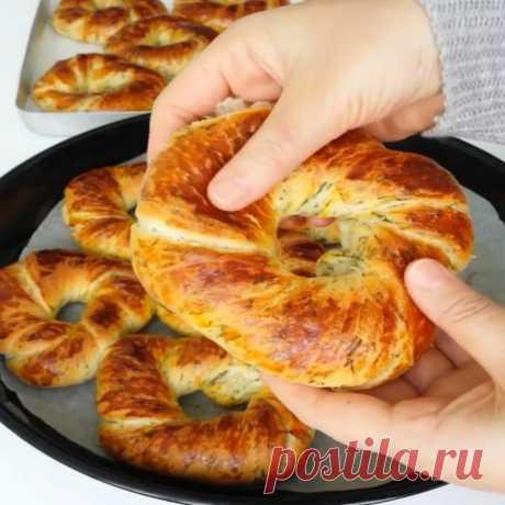 Слоёная ачма с укропом — Sloosh – кулинарные рецепты