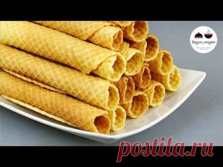 Wafer tubules MAMIN Tot most ̆ recipe! \/ Sweets from the childhood