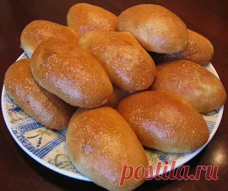 Постные пирожки с капустой