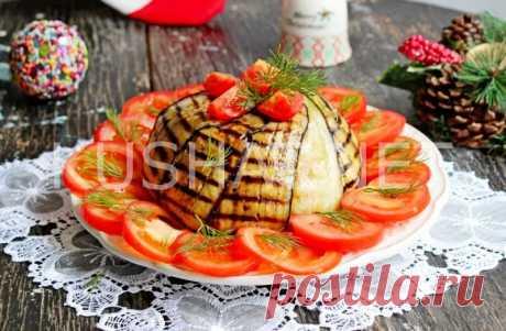 Торт из баклажанов. Пошаговый рецепт с фото • Кушать нет