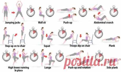 We kill fat Carry out each exercise on a minute