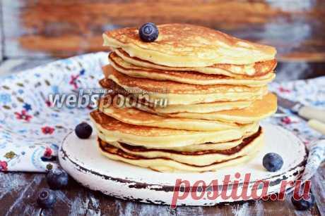 Панкейки с творожным сыром рецепт с фото, как приготовить на Webspoon.ru