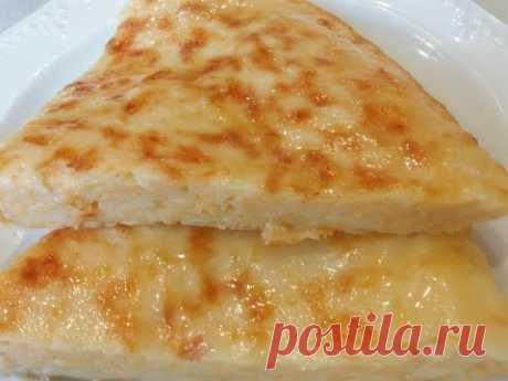 Ленивые хачапури на завтрак за 10 минут - съедаются не успевая остыть