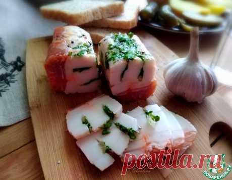 Солёное сало – кулинарный рецепт