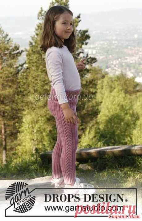 Children's breeches spokes. We knit together online