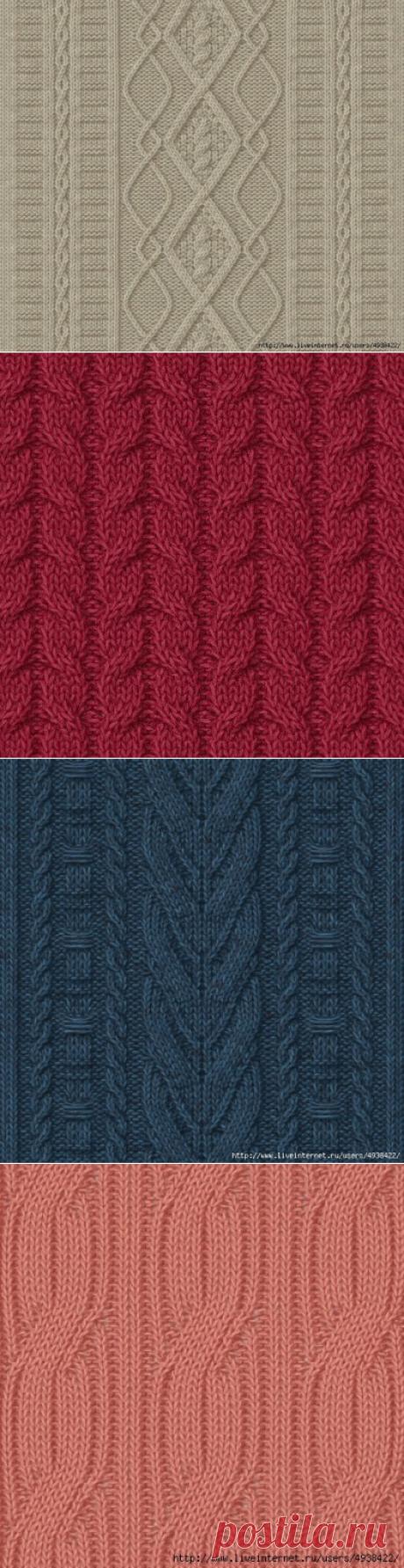 Узоры спицами (фото + схема) - 2.