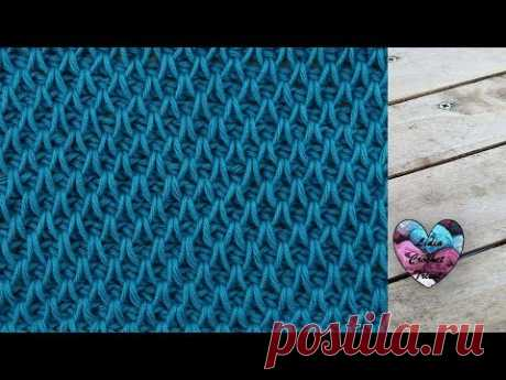 Crochet Tunisien Point Smock facile