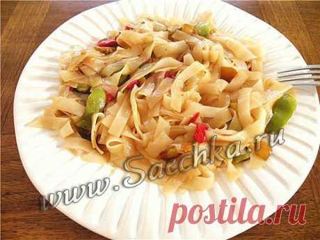 Тушеные макароны - рецепт с фото