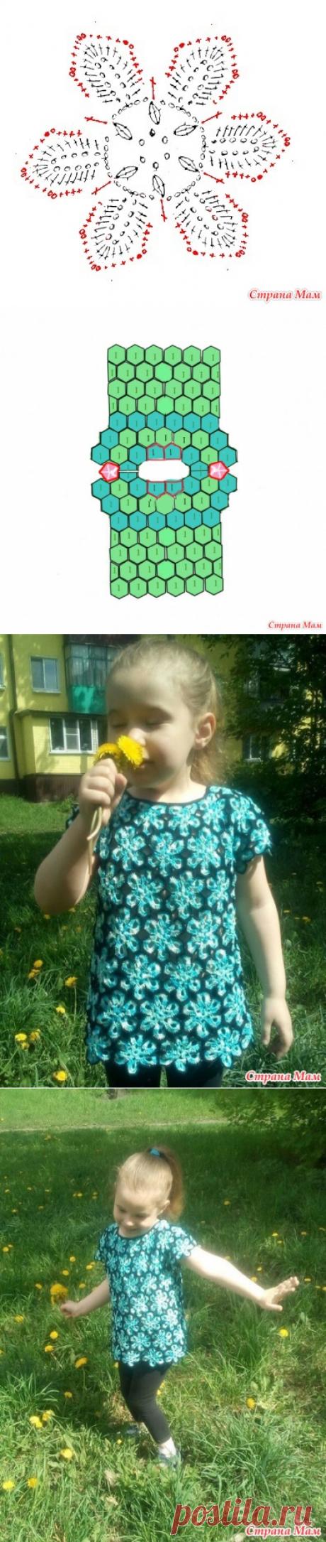 Туника для внучки - Вязание - Страна Мам