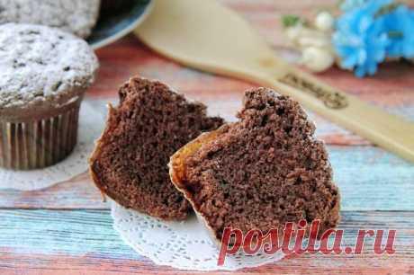 Брауни-капкейки - пошаговый рецепт с фото на Повар.ру
