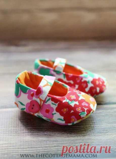 Милые туфельки для куколки