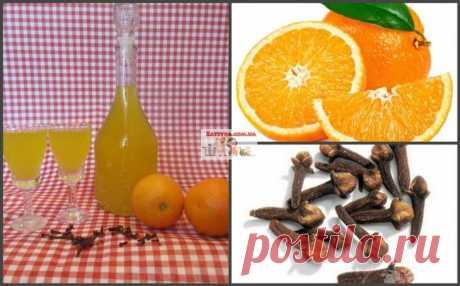Апельсиново-гвоздичный лике