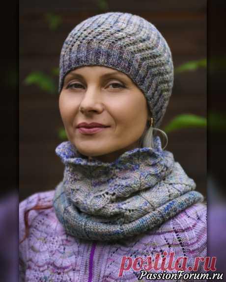 Секреты профессиональных вязальщиц. Видео МК по вязанию авторской шапочки-бини. | Вязание спицами для начинающих