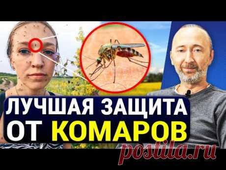 САМОЕ СИЛЬНОЕ И БЕСПЛАТНОЕ СРЕДСТВО ОТ КОМАРОВ! Без химии! 5 Натуральных мер избавления от комаров.