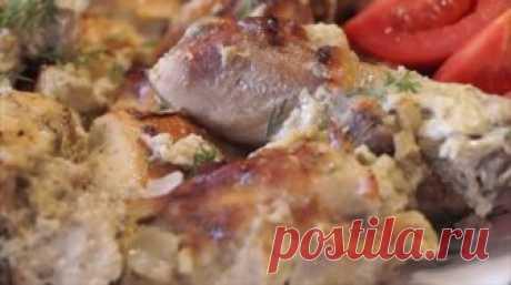 Сочная курица в кефире: изумительный вкус