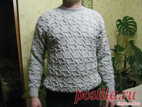 Men's jumper - we Knit for our men - the Country of Mothers