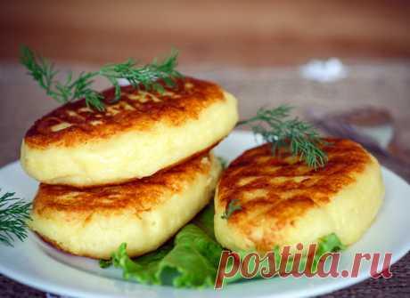 Картофельные зразы с печеночной начинкой - tochka.net