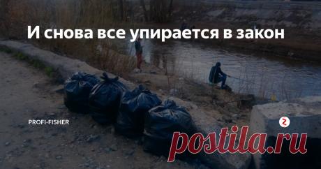 И снова все упирается в закон На нашей маленькой городской речке после зимы и прошедшего лета оказалось очень много мусора. Рыболовы сами решили очистить берег. На свои деньги купили мешки и, потратив свое бесценное время, собрали все, что могли на берегу.