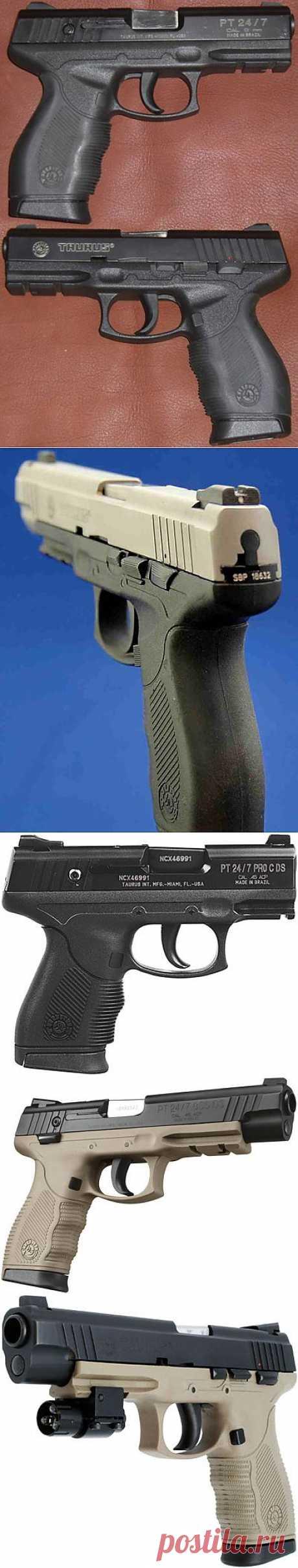Пистолет Taurus PT 24/7 | Энциклопедия оружия