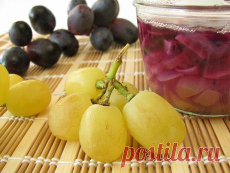 Заготовки из винограда на зиму - 15 рецептов