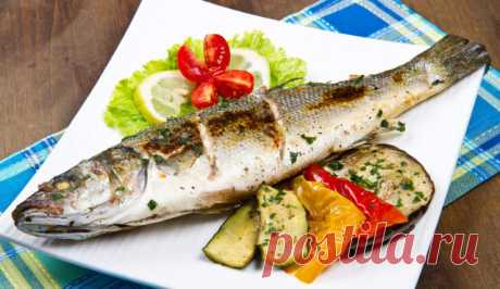 לברק בתנור עם עשבי תיבול ארומטיים - דגים ופירות ים - הארץ