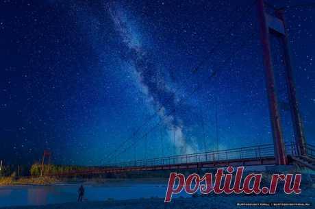 Река Китой, Иркутская область. Автор фото — Kirill Burtasovsky: nat-geo.ru/photo/user/118794/ Добрых снов.