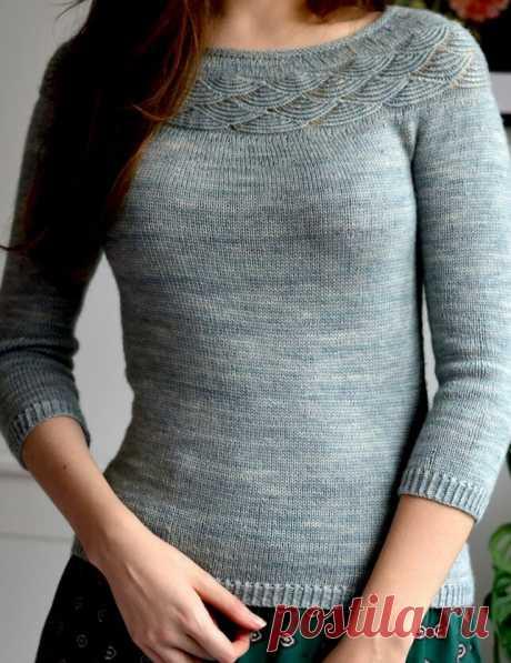 Модели спицами. Стильный пуловер Appeal. Идеи красивых и шикарных пуловеров для вашего творчества.   Ирина СНежная & Вязание   Яндекс Дзен