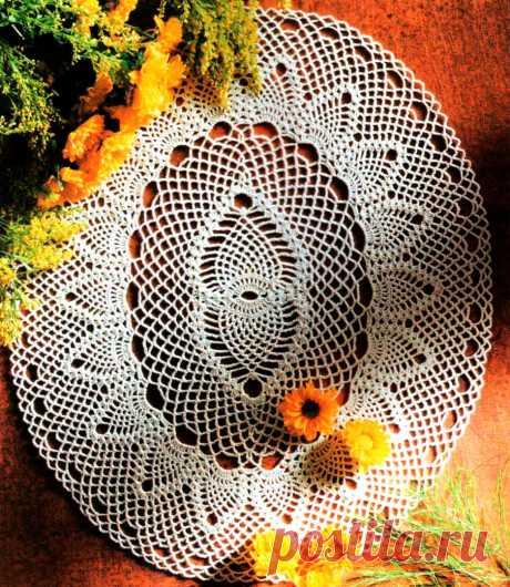 Салфетки овальной формы из мотивов   Домашние зарисовки   Яндекс Дзен