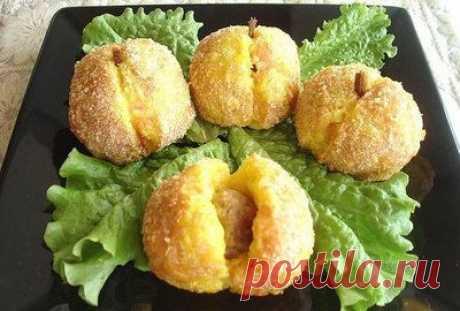 Картофельный персики. | Быстрые рецепты