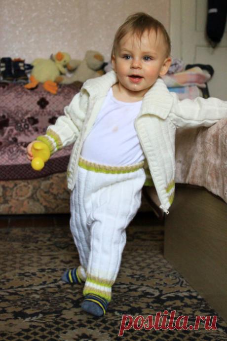 Штанишки для малыша или малышки - кофточка для новорожденного спицами - запись пользователя Валерия (valerijakiseleva) в сообществе Рукоделие - Babyblog.ru