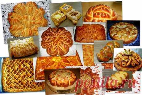 ¡El sitio fenomenal!!! La formalización (preparación) de los pasteles y los panecillos. Las Clases maestras de Valentina Zurkan