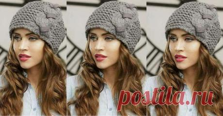 Симпатичные шапочки: вязальные тренды осени 2018 | вязание в моде | Яндекс Дзен