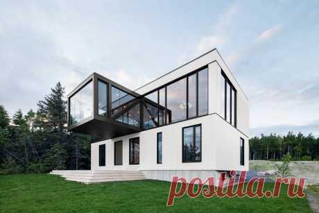 Дом с выступающем этажом в Квебеке (Интернет-журнал ETODAY)