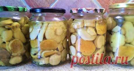 Маринованные грибы, проверенный рецепт | Поделки, рукоделки, рецепты | Яндекс Дзен