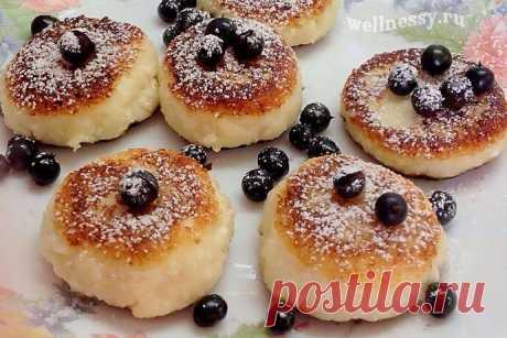 Пп сырники из творога: диетический рецепт на завтрак