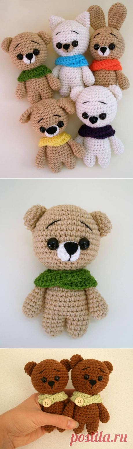 Free crochet animal patterns - Amigurumi Today