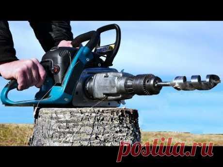 Chain Saw HACK 7 - Drill Attachment