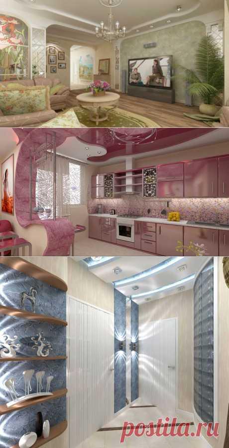 Студия дизайна интерьера Инны Ващенко.  Необычные, свежие и супер современные разработки от специалистов.