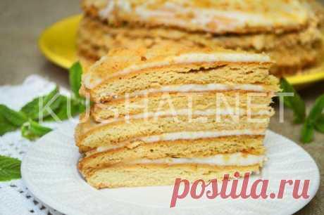 Торт «Медовик» со сметанным кремом. Рецепт с пошаговыми фото • Кушать нет