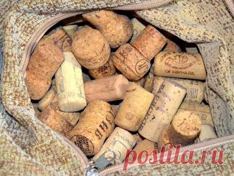 Не выкидывайте пробки от вина! Сделайте из них лечебную подушку | Дауншифтеры | Яндекс Дзен