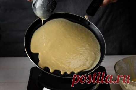 Почему блины на майонезе никогда не рвутся, хоть выпекаю на сухой сковороде »