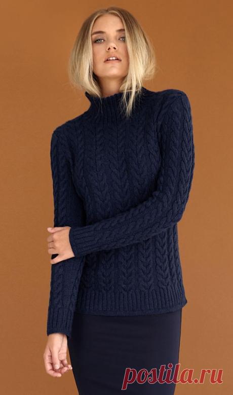 Вязаный свитер Major | ДОМОСЕДКА // Lina Neva