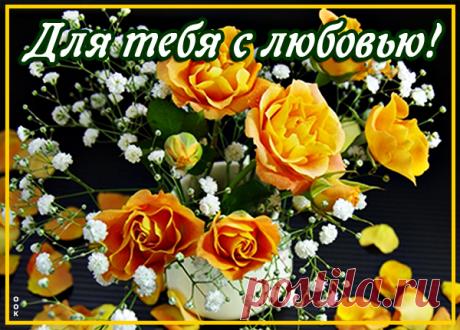Эти розы для тебя