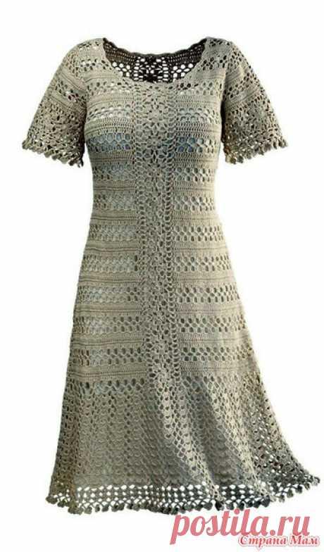 Кружевные посиделки №26. Ажурное платье - Все в ажуре... (вязание крючком) - Страна Мам