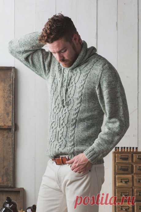 Пуловер с воротником стойкой Sunchokes - Вяжи.ру