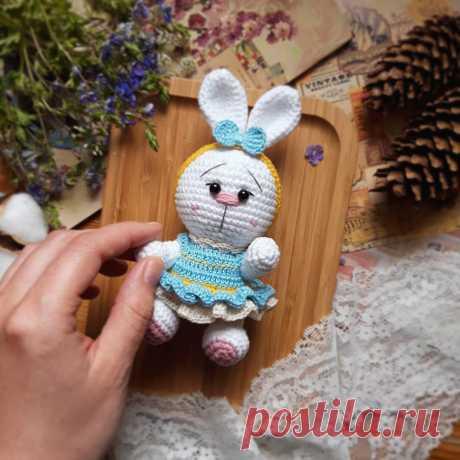 Вязаная заинька малышка амигуруми | Hi Amigurumi