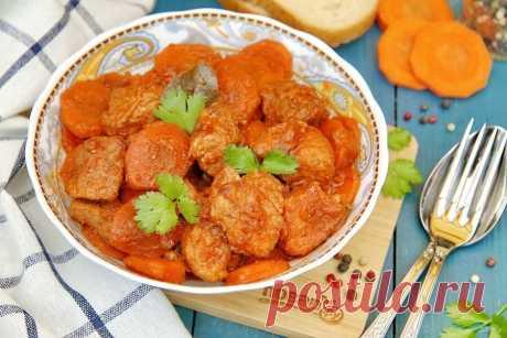 Запекаем овощи с мясом в духовке (топ-5 рецептов горячего и гарнира в одном) | POVAR.RU | Яндекс Дзен